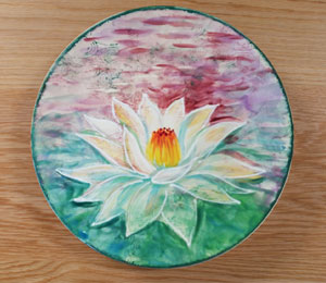 Westchester Lotus Flower Plate