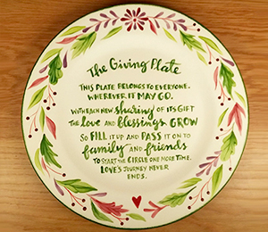 Westchester The Giving Plate