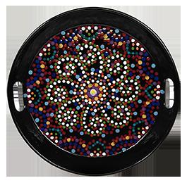 Westchester Mosaic Mandala Tray
