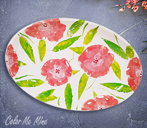 Westchester Floral Paper Stamping