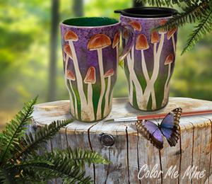 Westchester Mushroom Mugs