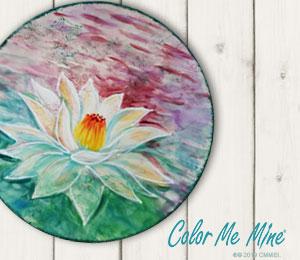 Westchester Lotus Flower Plate