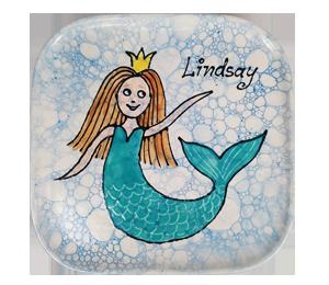 Westchester Mermaid Plate