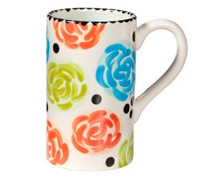 Westchester Simple Floral Mug