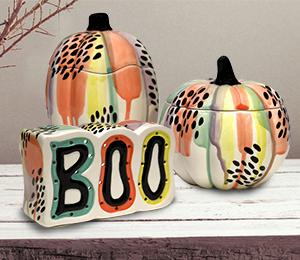 Westchester Drippy Pumpkin Box