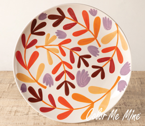 Westchester Fall Floral Charger