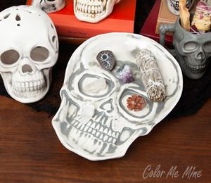 Westchester Vintage Skull Plate